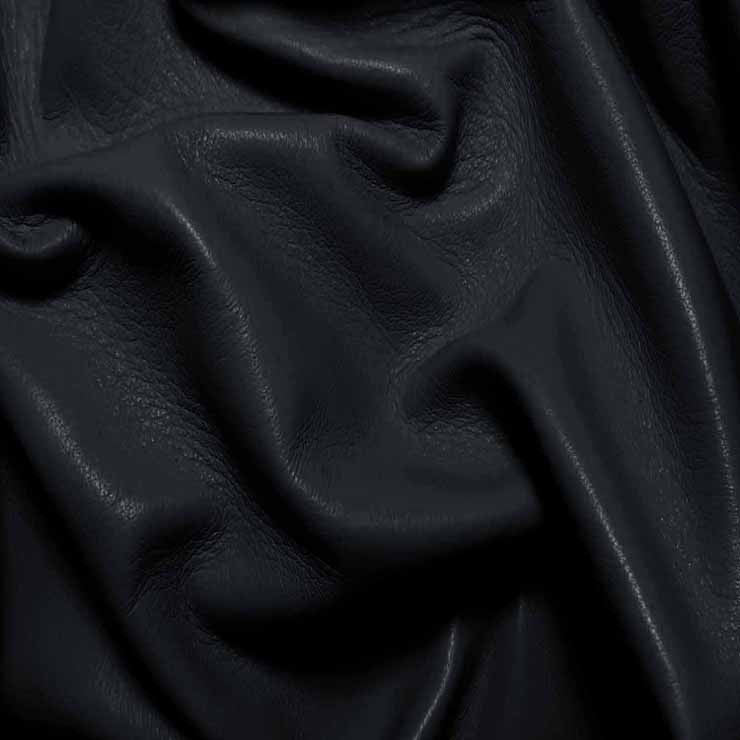 Drum Dyed Lamb Nappa Leather L389 Light Navy - NY Fashion Center Fabrics