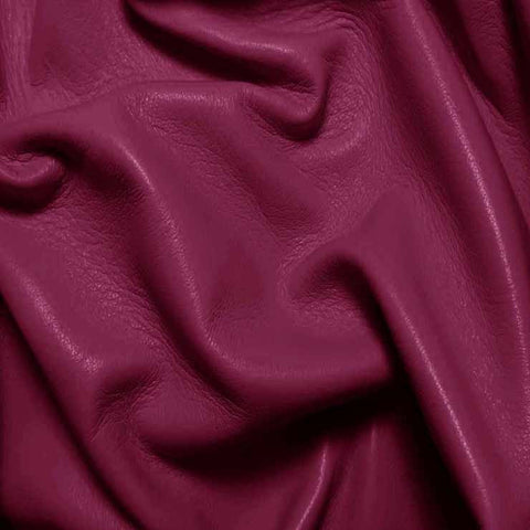 Drum Dyed Lamb Nappa Leather L390 Orchid - NY Fashion Center Fabrics