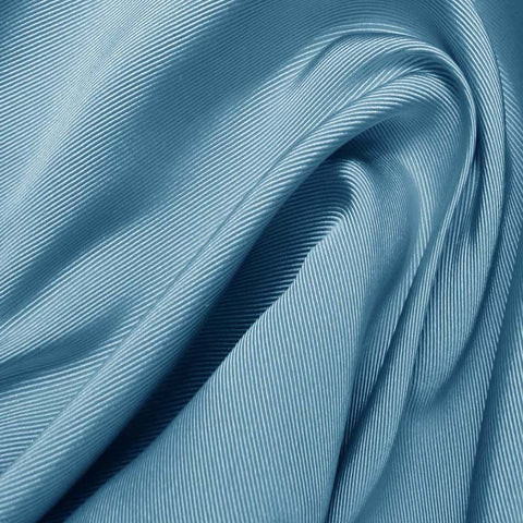 Silk Faille Lake Blue