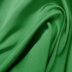 Silk Faille Leaf Green