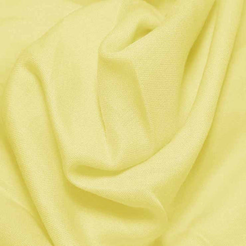 Cotton Blend Broadcloth - 30 Yard Bolt Lemon Ice 515 - NY Fashion Center Fabrics