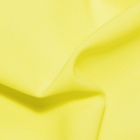 Polyester Poplin - 25 Yard Bolt Lemon