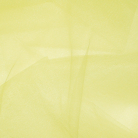Nylon Tulle - 50 Yard Bolt Lemon - NY Fashion Center Fabrics