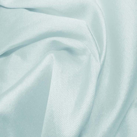 Silk Wool Fabric Light Blue