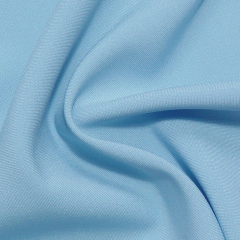 Polyester Poplin - 25 Yard Bolt Light Blue