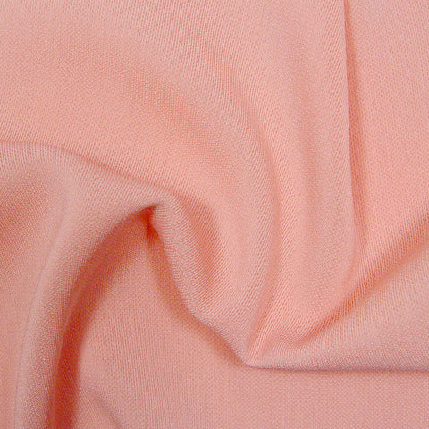 Polyester/Triacetate Blend Jersey Light Pink