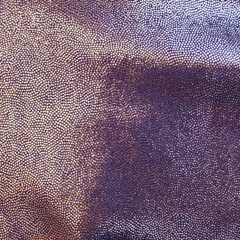 Foil Dotted Spandex 15 Yard Minimum Light Purple - NY Fashion Center Fabrics