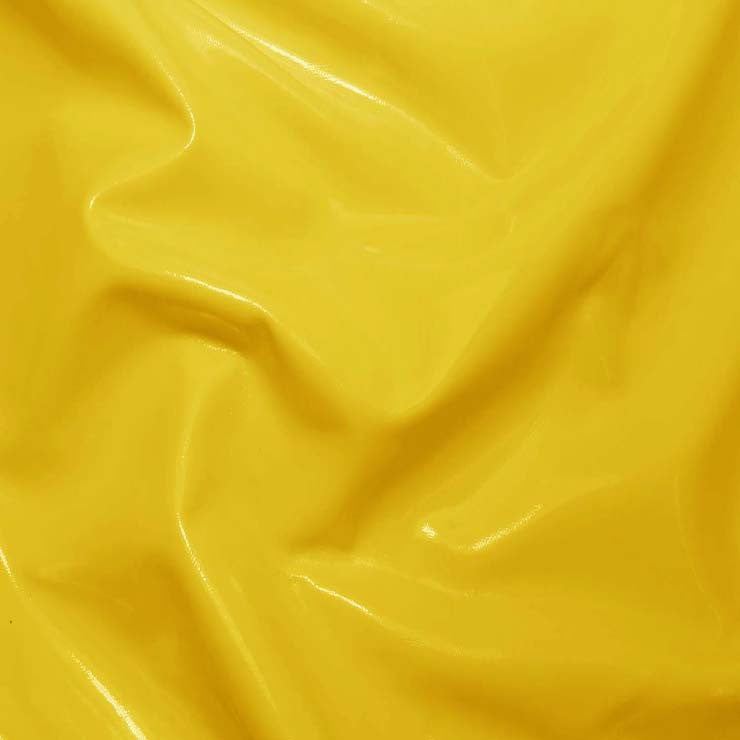 Solid PVC Vinyl Light Yellow