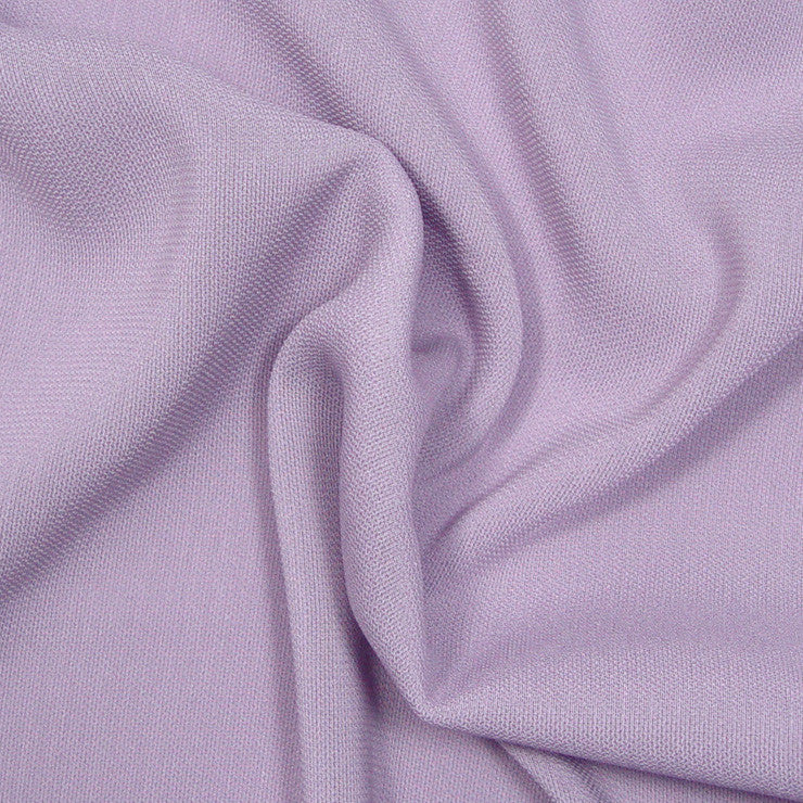 Polyester/Triacetate Blend Jersey Lilac