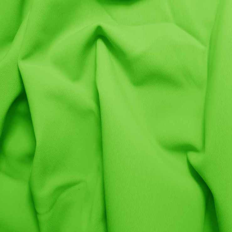 Solid Matte Spandex Lime