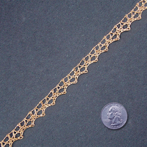 Metallic Braid Trim MB01 MB01 Gold - NY Fashion Center Fabrics