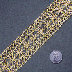 Metallic Braid Trim MB14 MB14 Gold - NY Fashion Center Fabrics