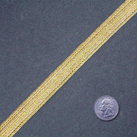Metallic Braid Trim MB29 MB29 Gold - NY Fashion Center Fabrics