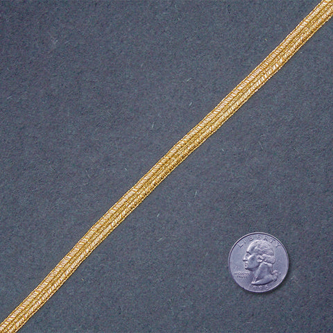 Metallic Braid Trim MB32 MB32 Gold - NY Fashion Center Fabrics