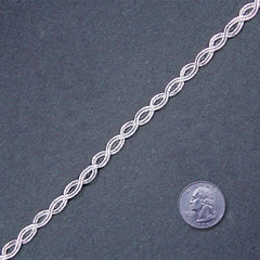 Metallic Braid Trim MB54 MB54 Silver - NY Fashion Center Fabrics