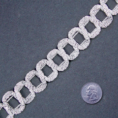 Metallic Braid Trim MB60 MB60 Silver - NY Fashion Center Fabrics