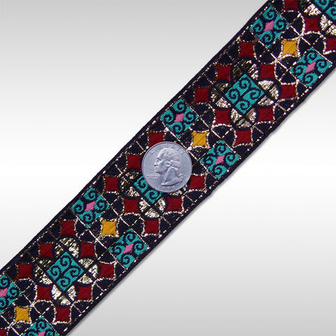 Jacquard Trim MJB021 MJB021 02 - NY Fashion Center Fabrics