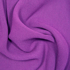 Polyester/Triacetate Blend Jersey Magenta