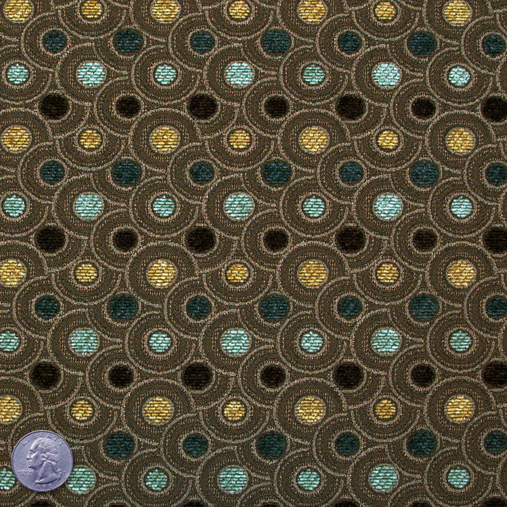 Bailey Cotton Polyester Medium Brown - NY Fashion Center Fabrics