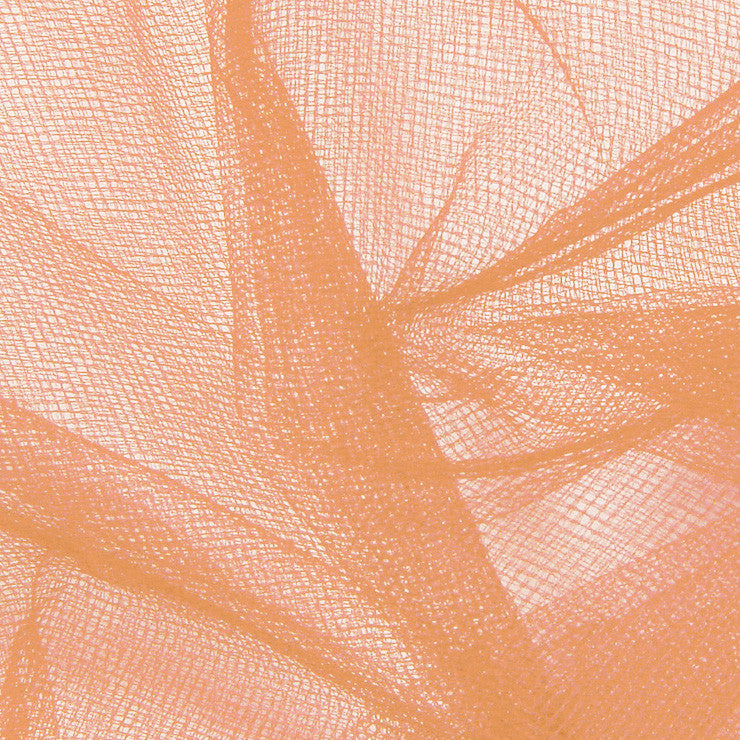 Nylon Tulle - 50 Yard Bolt Melon - NY Fashion Center Fabrics