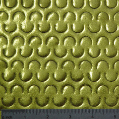 Cut Out Metallic Spandex Meta 096 Apple Green - NY Fashion Center Fabrics