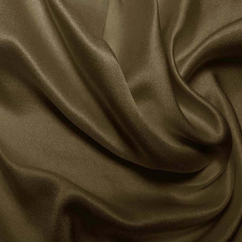 Silk Double Face Satin Mink