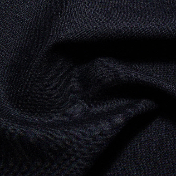 Italian Wool Suiting Navy Blue - NY Fashion Center Fabrics