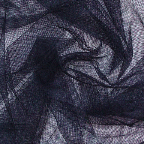 French Veil Tulle Navy - NY Fashion Center Fabrics