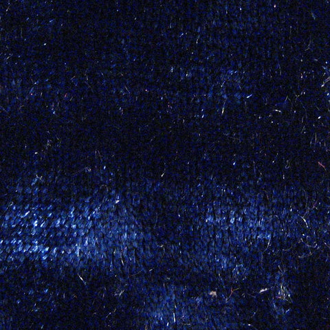 Spandex Crushed Velvet 15 Yard Minimum Navy
