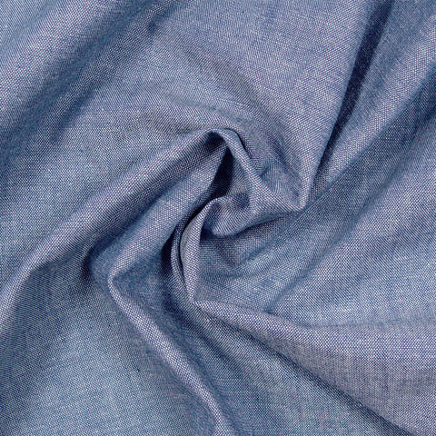 Cotton Western Chambray - 25 Yard Bolt Navy - NY Fashion Center Fabrics