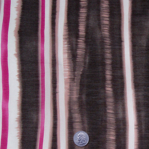 Cotton Stripe Print Voile Neopolitan - NY Fashion Center Fabrics