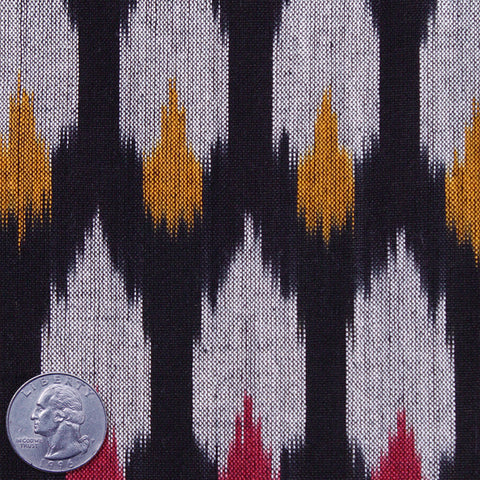 Cotton Ikat Night Sky - NY Fashion Center Fabrics