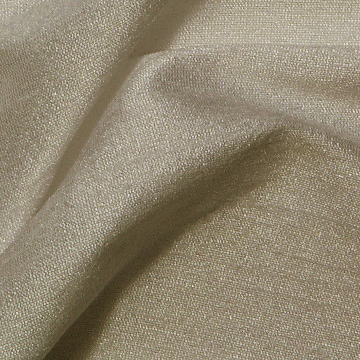 Polyester Stretch Shantung Nude