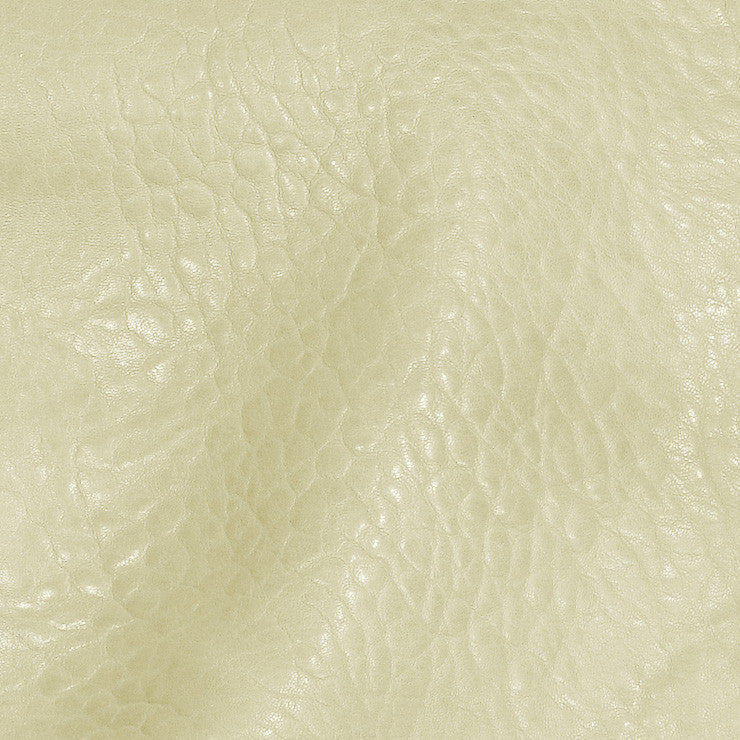 Bubble Lamb Leather Off White - NY Fashion Center Fabrics