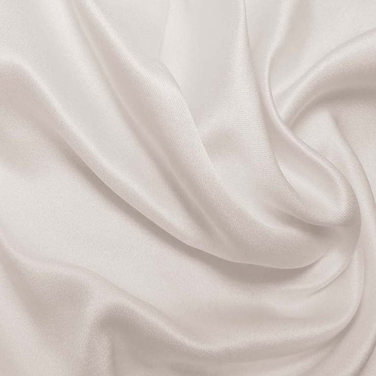 Silk Double Face Satin Off White