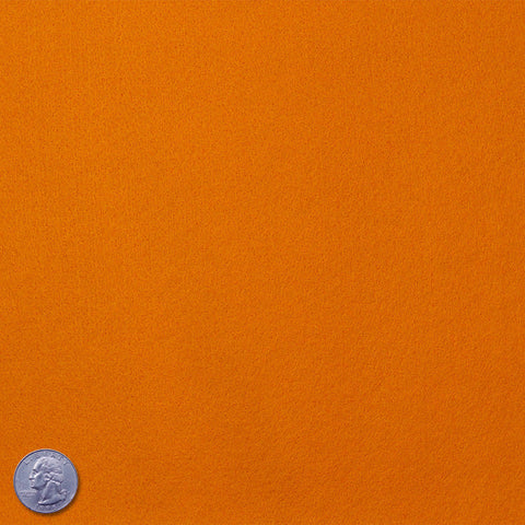 Felt Orange - NY Fashion Center Fabrics