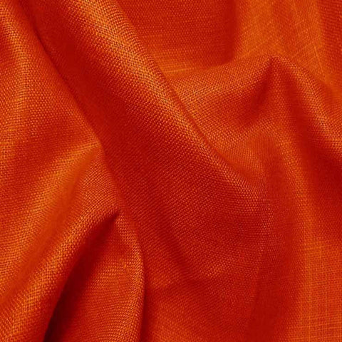 Lightweight Linen Orange - NY Fashion Center Fabrics