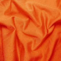 Solid Shiny Spandex Orange