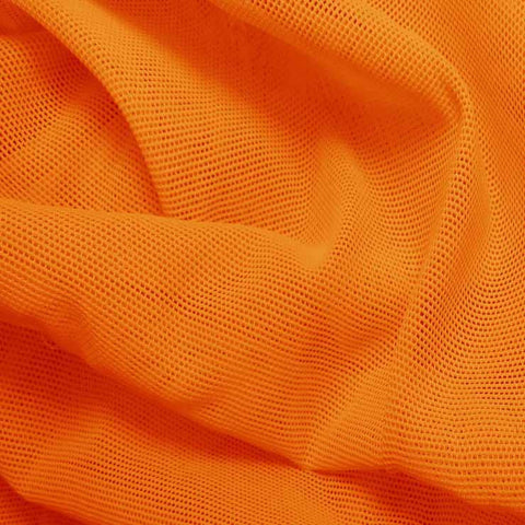 Nylon Powermesh Orange - NY Fashion Center Fabrics