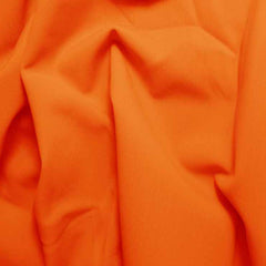 Solid Matte Spandex Orange
