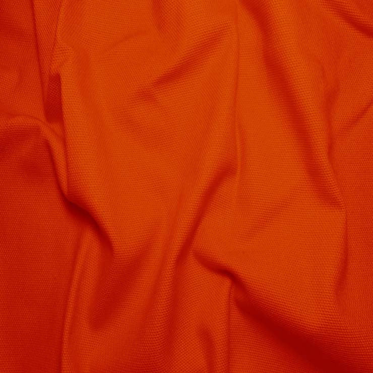 Cotton Duck Cloth, 10oz - 20 Yard Bolt Orange - NY Fashion Center Fabrics
