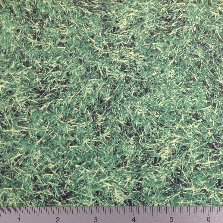 Grass Print Spandex PS 3208 Green - NY Fashion Center Fabrics
