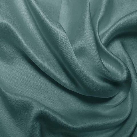 Silk Double Face Satin Pale Teal