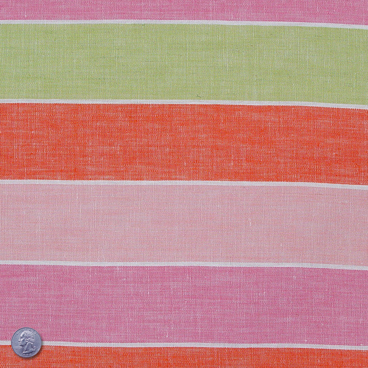 Linen Stripes Collection #2 Parfait - NY Fashion Center Fabrics