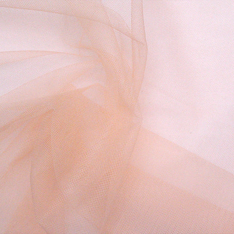 French Veil Tulle Peach - NY Fashion Center Fabrics