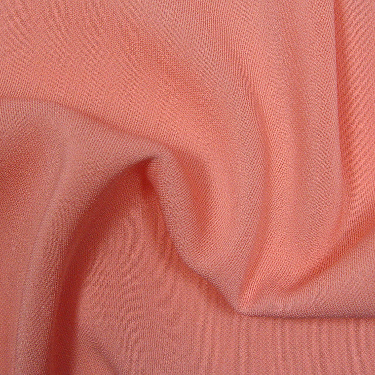 Polyester/Triacetate Blend Jersey Peach