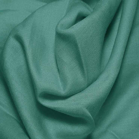 Cotton Blend Broadcloth - 30 Yard Bolt Peacock Green 564 - NY Fashion Center Fabrics