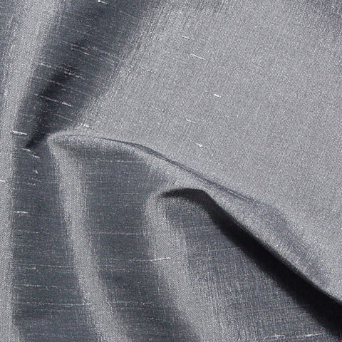 Polyester Stretch Shantung Pewter