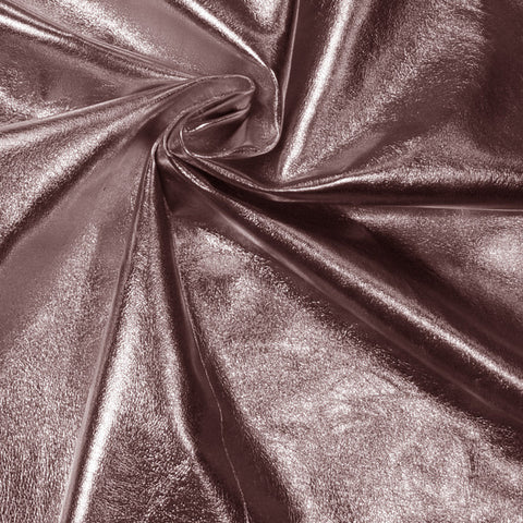 Metallic Lamb Leather Pewter - NY Fashion Center Fabrics