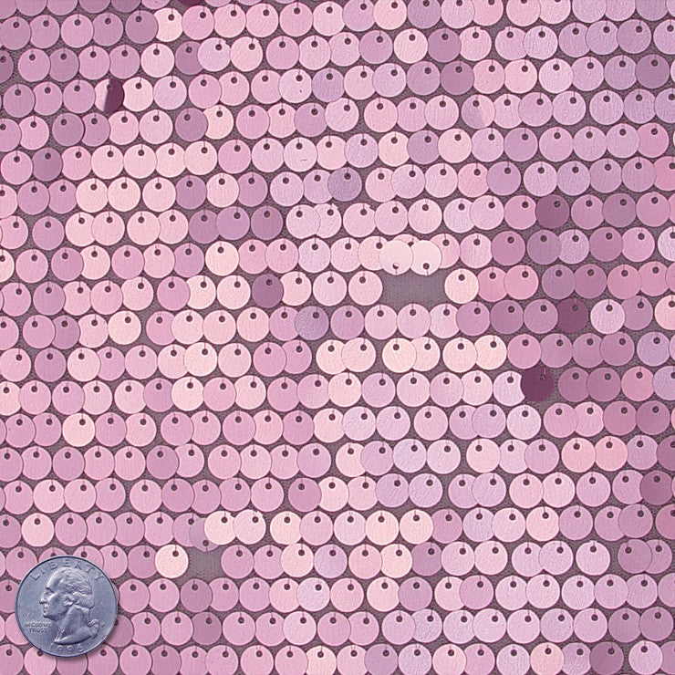 8mm Sequin Mesh Pink - NY Fashion Center Fabrics